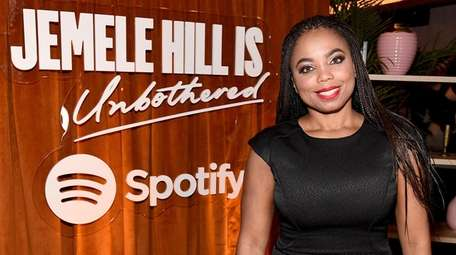 "Jemele Hill attends her ""Spotify - Jemele Hill"