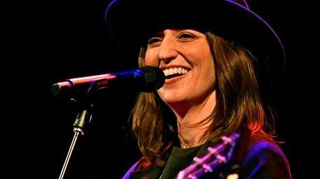 Sara Bareilles performs at the Bowery Ballroom