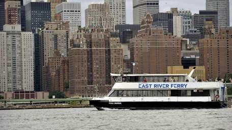 The New East River ferry service is up