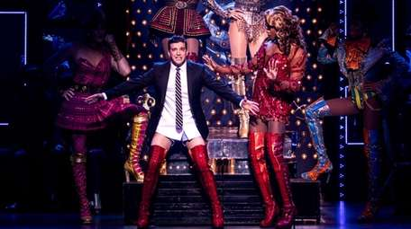 Last fall Mark Ballas, left, donned the title