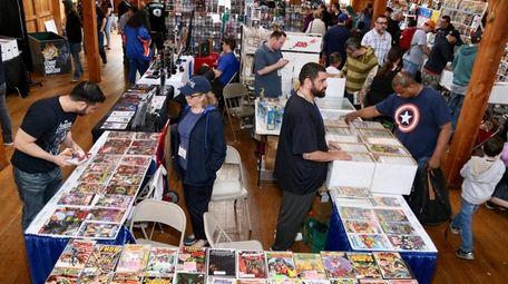 The Long Island Comic Book Expo includes vendors