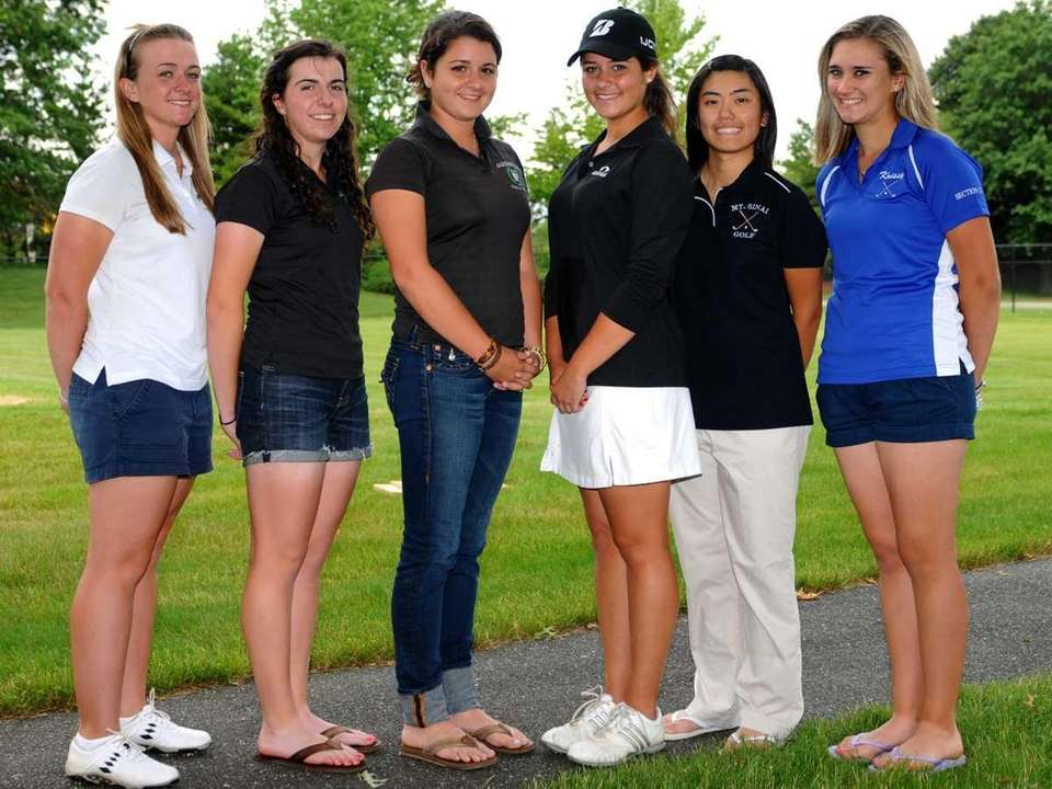 2011 All-Long Island girls golf team