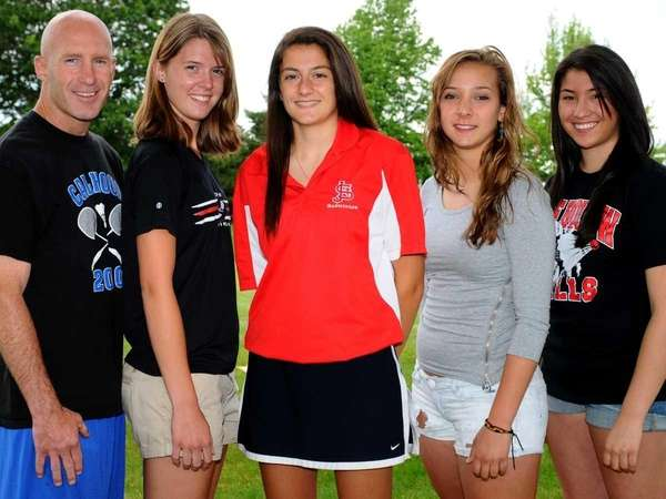 2011 All-Long Island girls badminton team