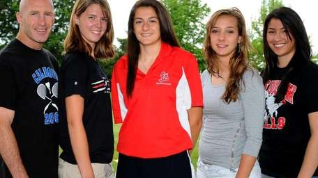 2011 All-Long Island girls badminton team