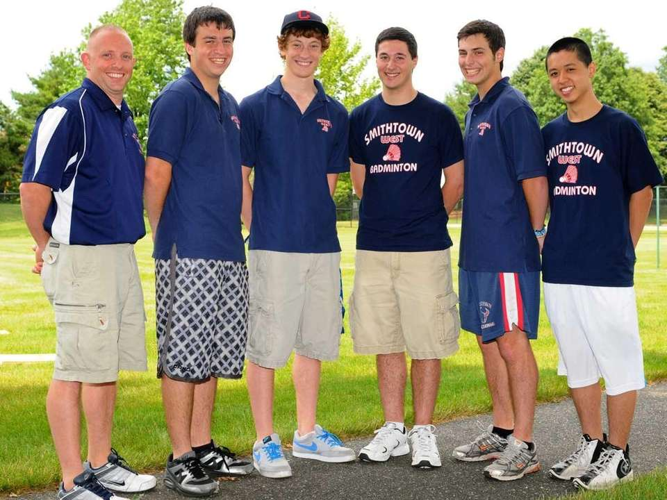 2011 All-Long Island boys badminton team