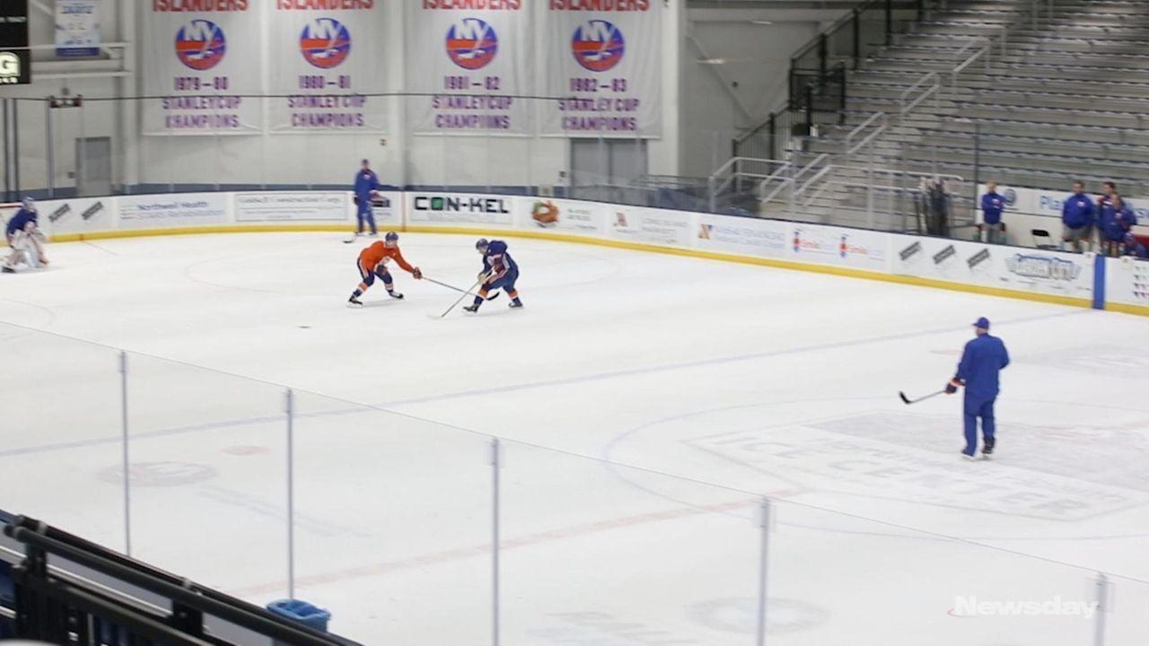 Islanders head coachBarry Trotz spoke Monday about how