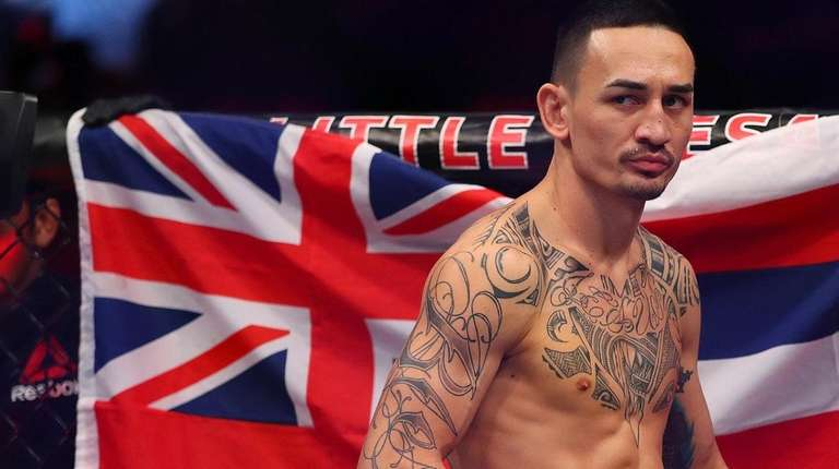 Max Holloway prior to his fight with Jose