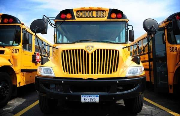 A file photo of school bus in a