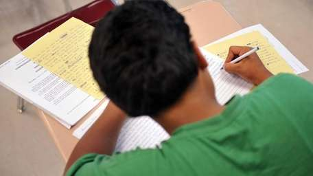 A file photo of a student at Glen