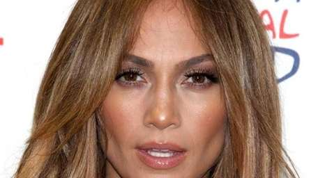 Jennifer Lopez meets with the media for the