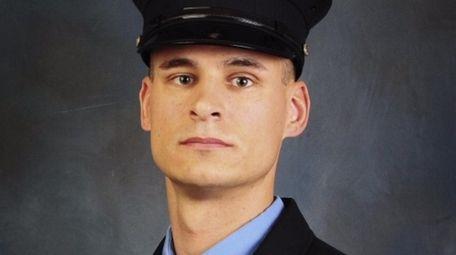 FDNY firefighter and U.S. Marine Christopher Slutman, of