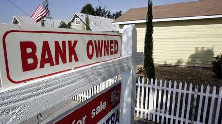 A foreclosed home is shown in Mountain View,
