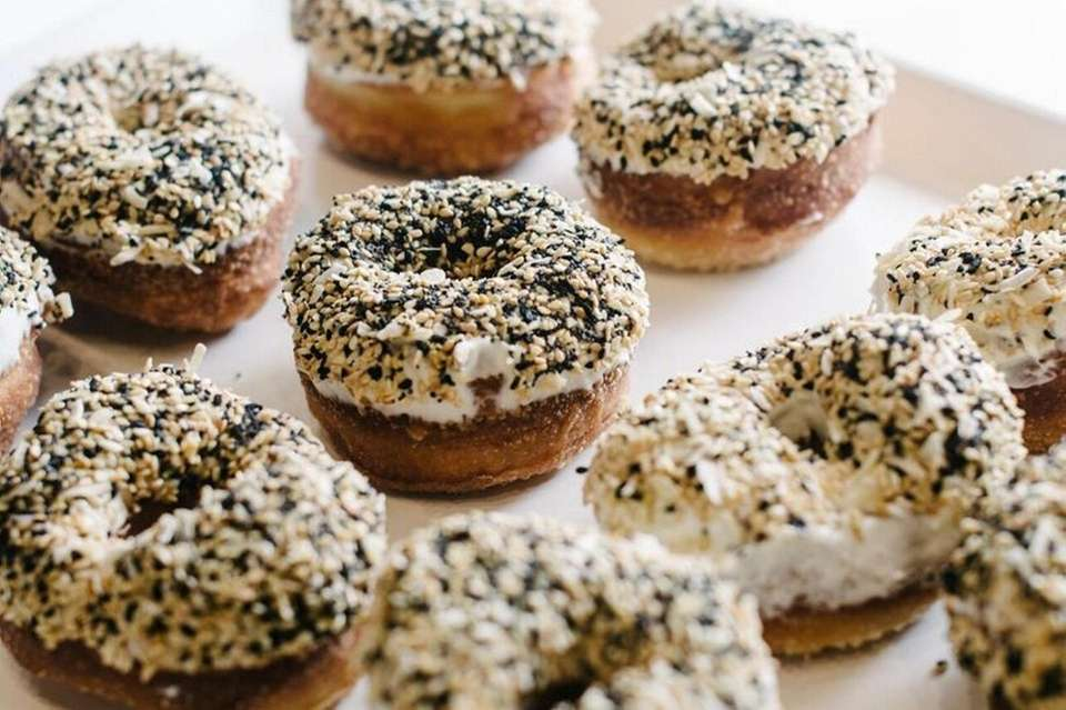The everything bagel doughnut from Grindstone Coffee and