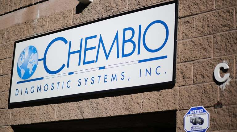 Chembio Diagnostic Systems of Medford, seen in October