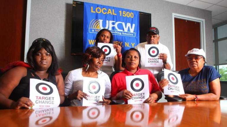 Target workers who want a union at the