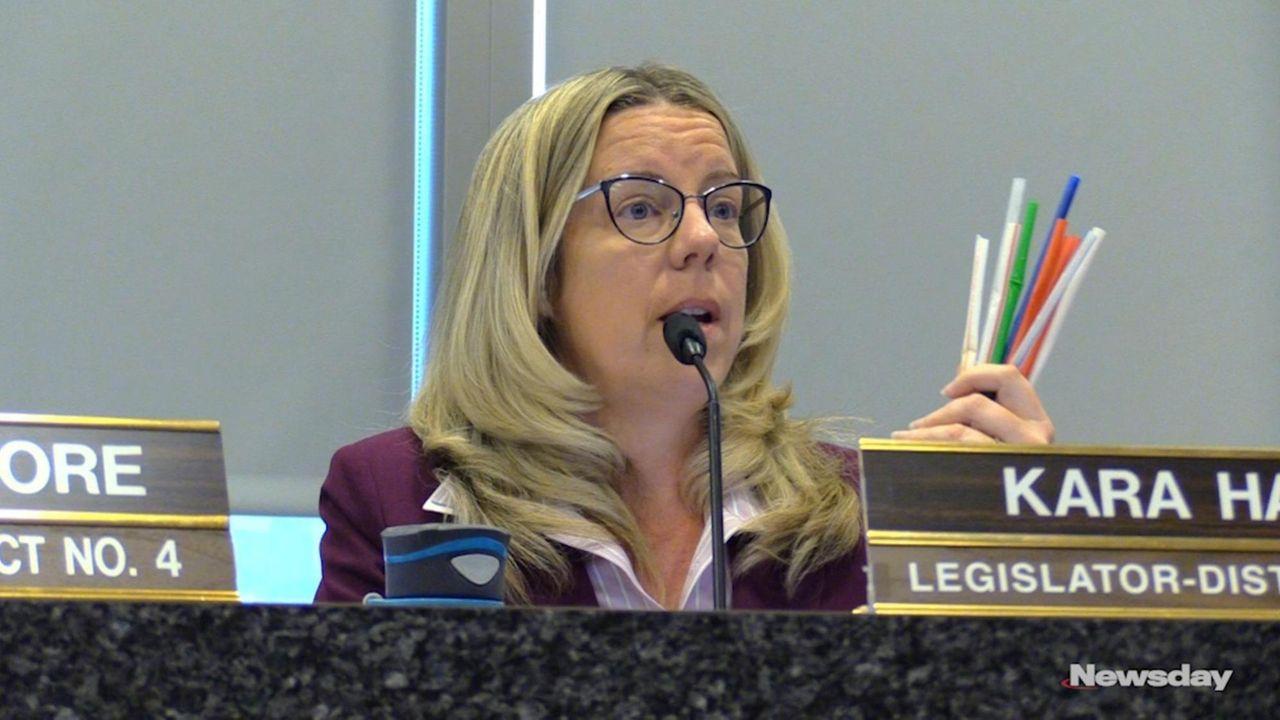 On Tuesday, Suffolk Legis. Kara Hahn(D-Setauket) addressed the