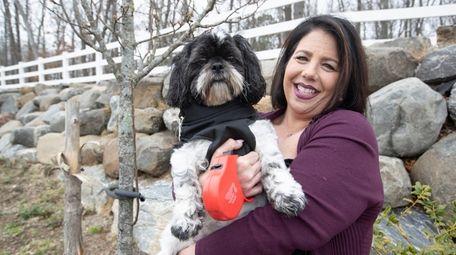 Shari Franco, 45,  and her 6-year-old Shih