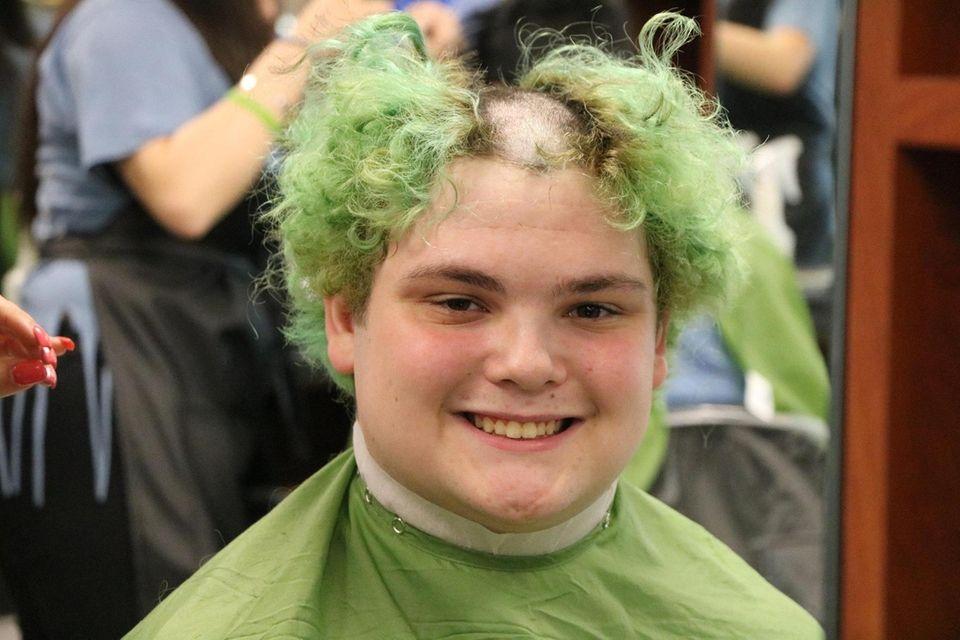 Bradley Altman, an 11th grader at Sachem High