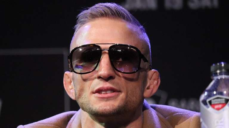 UFC bantamweight champion TJ Dillashaw appears at a