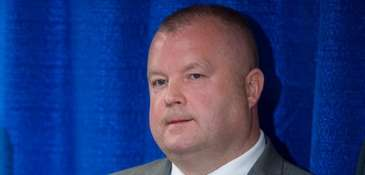 NYPD Deputy Inspector Brian Gill, commander of the
