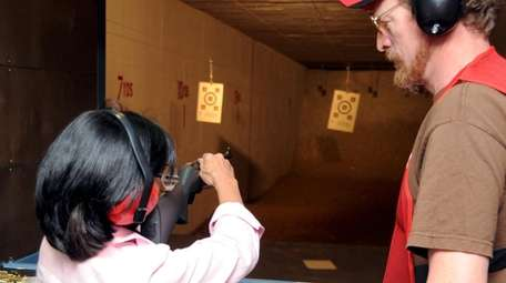Nassau's only public shooting range at Mitchel Field