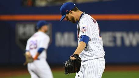 Mets' Jacob deGrom had an uncharacteristically poor night