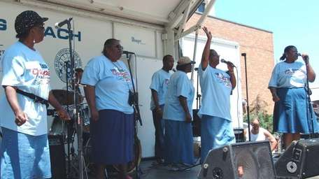 Various groups perform at the annual Gospel Explosion