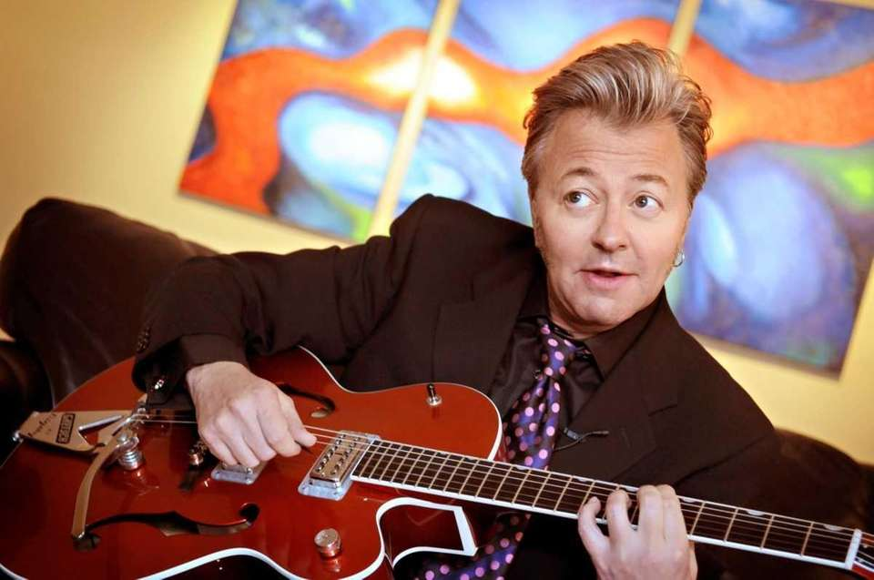 Musician/singer/songwriter Brian Setzer, best know as the lead