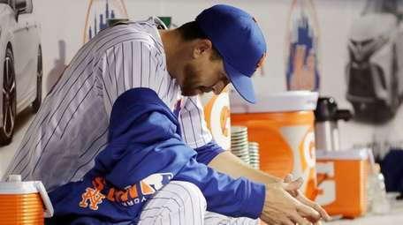 New York Mets starting pitcher Jacob deGrom, last