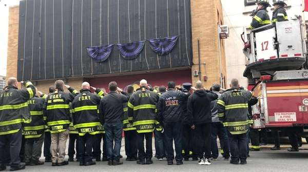 FDNY firefighter killed in Afghanistan honored at Bronx firehouse