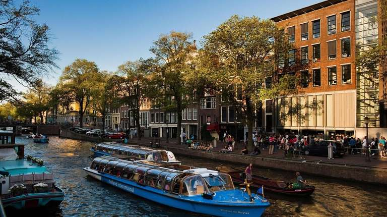 Renovations are complete at the Anne Frank house