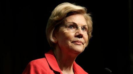 U.S. Sen. Elizabeth Warren, D-Mass. speaks during the
