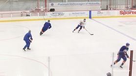 Islanders head coach Barry Trotz spoke Wednesday ahead