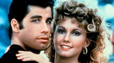John Travolta and Olivia Newton-John appear in Paramount's