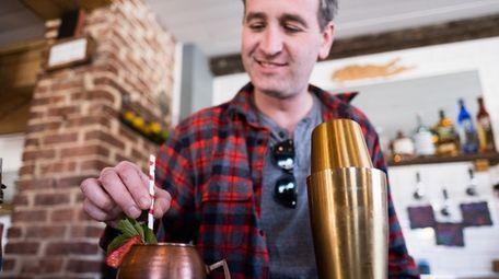 Billy Miller, owner of Restoration Kitchen & Cocktails