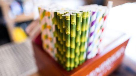 Paper straws are already stocked at Restoration Kitchen