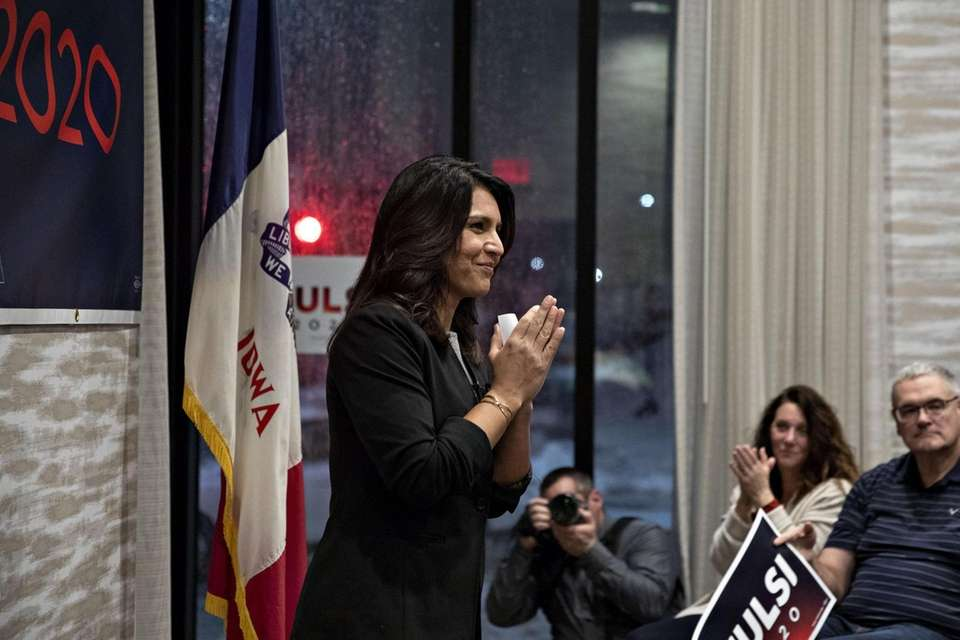Rep. Tulsi Gabbard, a Democrat from Hawaii and