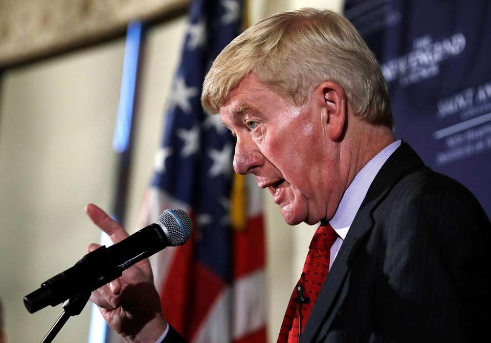 Former Massachusetts Gov. William Weld, a 2020 Republican