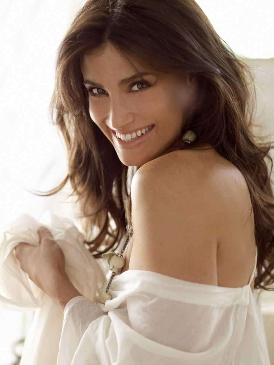 Actress and singer Idina Menzel, who went by