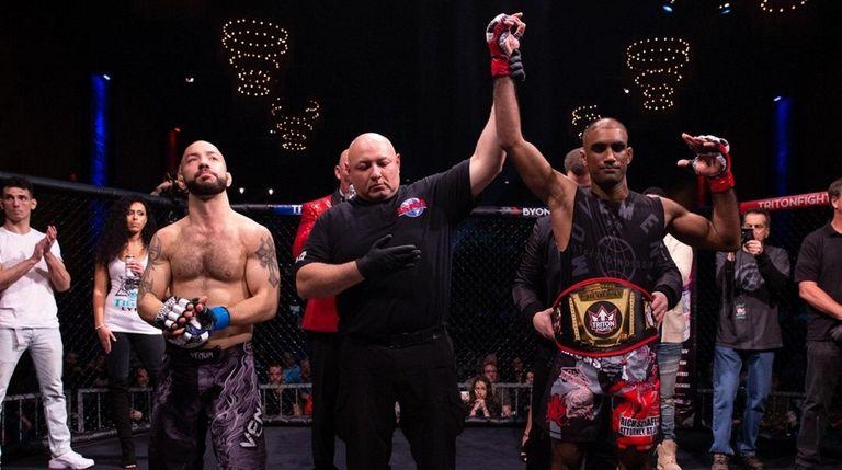 Triton Fights bantamweight champ Ashiek Ajim.
