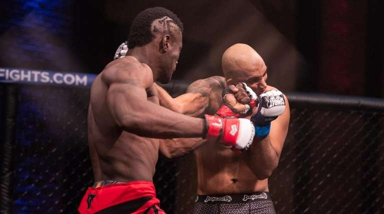 Triton Fights junior middleweight prospect Jason Downer.