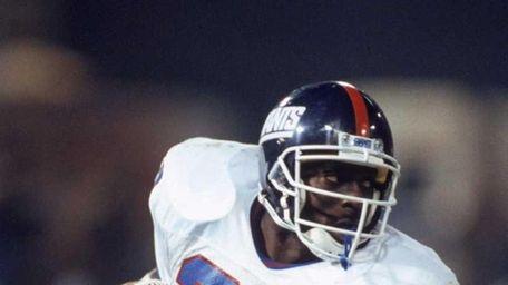 OTTIS ANDERSON: 10,273 yards 14 seasons, 1979-1992 Anderson