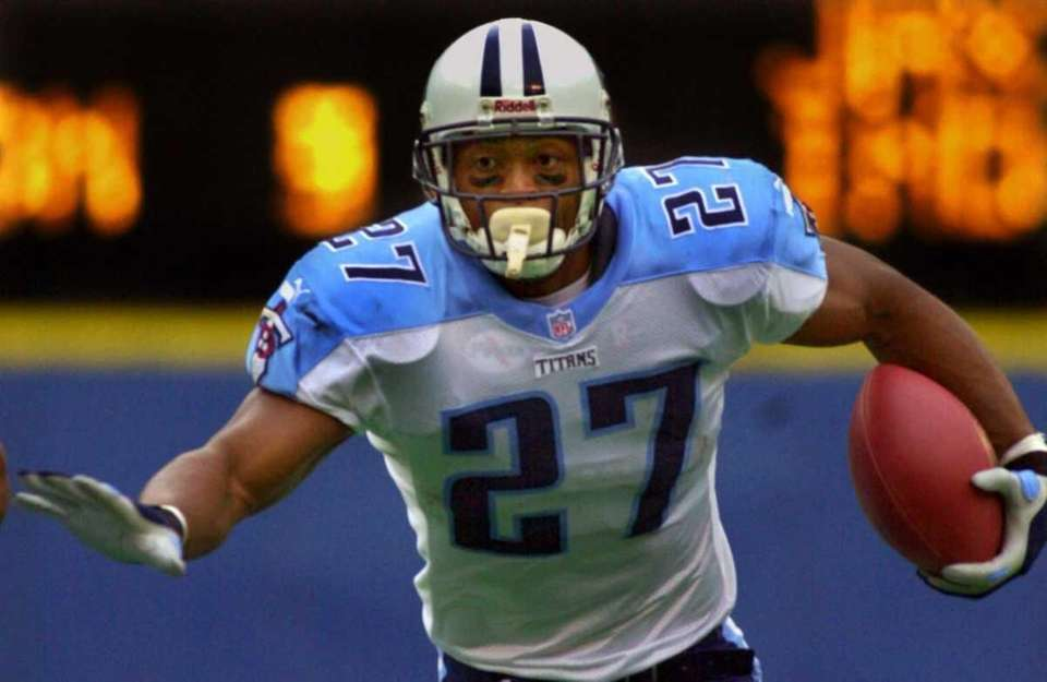 EDDIE GEORGE: 10,441 yards 9 seasons, 1996-2004 After