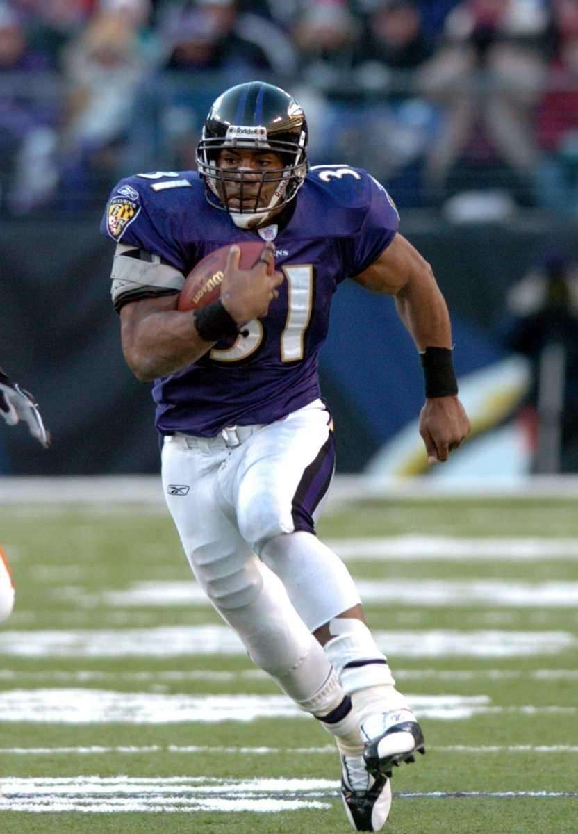 JAMAL LEWIS, 10,607 yards 10 seasons, 2000-2009 Lewis