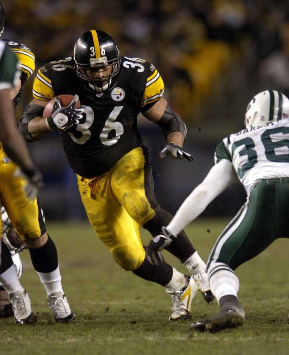JEROME BETTIS: 13,662 yards 13 seasons, 1993-2005 Known