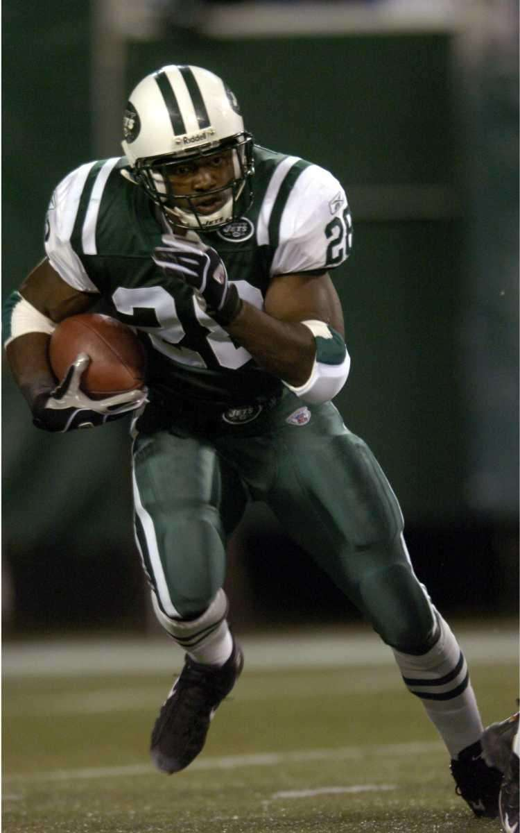CURTIS MARTIN: 14,101 yards 12 seasons, 1995-2006 After