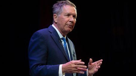 Former Ohio Gov. John Kasich, a 2016 Republican
