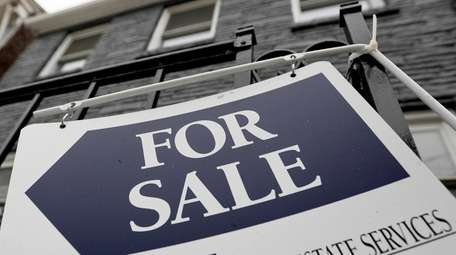 The number of homes listed for sale grew