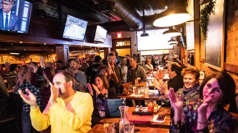 The Friday night happy-hour crowd at BrickHouse Brewery