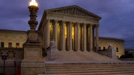 The U.S. Supreme Court building in Washington, D.C.,